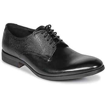 Pantofi Bărbați Pantofi Derby Clarks GILMORE Black / Leather