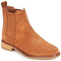 Pantofi Femei Ghete Clarks CLARKDALE Camel