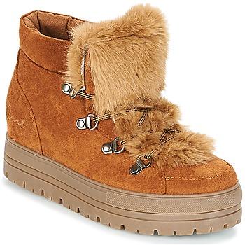 Pantofi Femei Ghete Coolway OSLO Camel