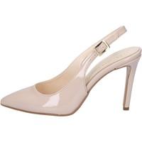 Pantofi Femei Sandale  Olga Rubini sandali beige vernice BY286 Beige