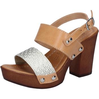 Pantofi Femei Sandale  Made In Italia BY516 Argint