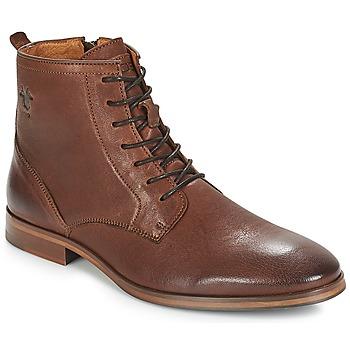 Pantofi Bărbați Ghete Kost NICHE 1 Coniac