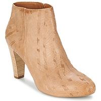 Pantofi Femei Botine Vic RIBE INTAGLIATO Maro