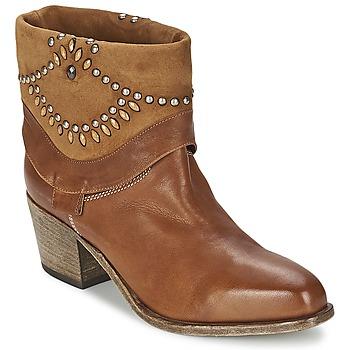 Pantofi Femei Botine Vic AGAVE Maro