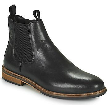 Pantofi Bărbați Ghete Schmoove PILOT CHELSEA Negru