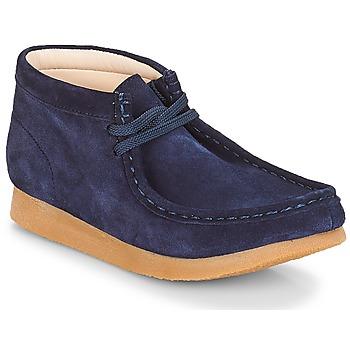 Pantofi Copii Ghete Clarks Wallabee Bt Navy / Suede