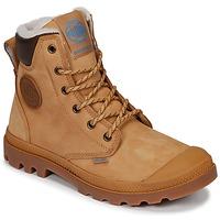 Pantofi Ghete Palladium PAMPA SPORT CUFF WPS Galben / Maro