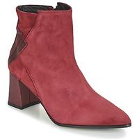 Pantofi Femei Botine Elizabeth Stuart DHEXTER Roșu-bordeaux