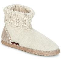 Pantofi Femei Papuci de casă Giesswein FREIBURG Bej