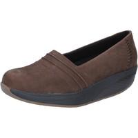Pantofi Femei Mocasini Mbt Adidași BY686 Maro