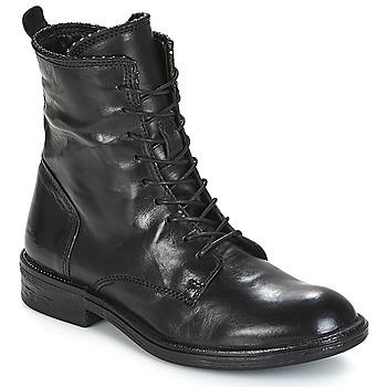 Pantofi Femei Ghete Mjus PAL LACE Negru