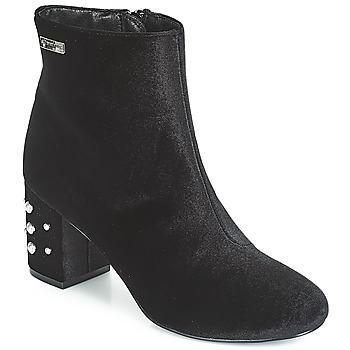 Pantofi Femei Botine Les Tropéziennes par M Belarbi CHANNON Negru