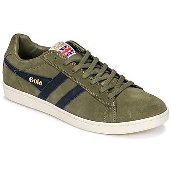 Pantofi Bărbați Pantofi sport Casual Gola Equipe Suede Kaki / Albastru