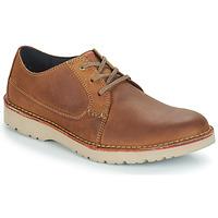 Pantofi Bărbați Pantofi Derby Clarks VARGO PLAIN Maro