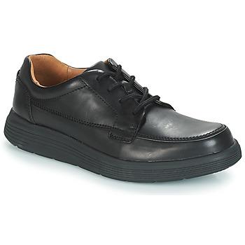 Pantofi Bărbați Pantofi Derby Clarks UN ABODE EASE Black