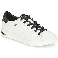 Pantofi Femei Pantofi sport Casual Geox JAYSEN Alb / Argintiu