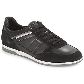 Încăltăminte Bărbați Pantofi sport Casual Geox U RENAN Negru