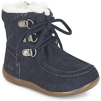 Pantofi Copii Cizme casual Kickers BAMARA Bleumarin