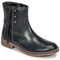 Pantofi Fete Cizme casual Kickers MOLLY Negru