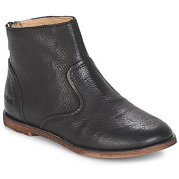 Pantofi Fete Cizme casual Kickers ROXANNA Negru