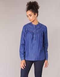 Îmbracaminte Femei Topuri și Bluze Pepe jeans ALICIA Albastru