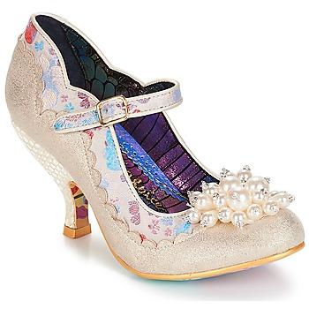 Pantofi Femei Pantofi cu toc Irregular Choice Shoesbury Crem