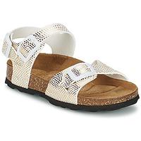 Pantofi Fete Sandale  Betula Original Betula Fussbett JEAN Piton / Auriu