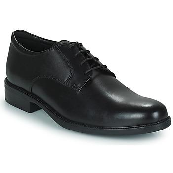 Pantofi Bărbați Pantofi Derby Geox CARNABY D Negru