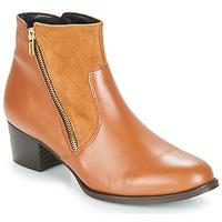 Pantofi Femei Botine So Size JOCASSU Camel