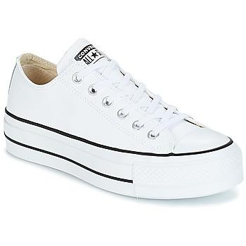 Încăltăminte Femei Pantofi sport Casual Converse CHUCK TAYLOR ALL STAR LIFT CLEAN OX Alb