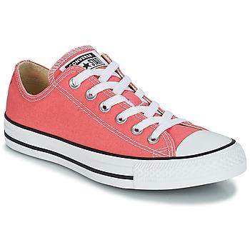 Încăltăminte Pantofi sport Casual Converse CHUCK TAYLOR ALL STAR OX Portocaliu / Corai