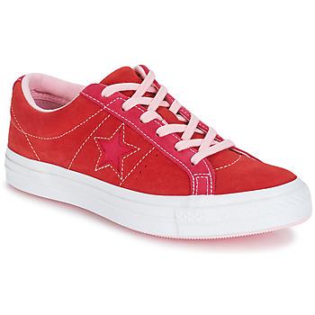 Încăltăminte Femei Pantofi sport Casual Converse ONE STAR OX Roșu / Roz