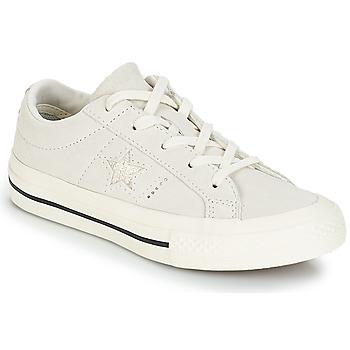 Pantofi Copii Pantofi sport Casual Converse ONE STAR OX Alb