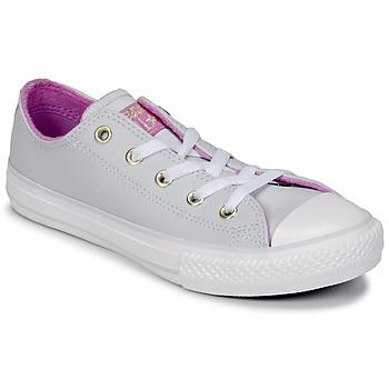 Pantofi Fete Pantofi sport stil gheata Converse CHUCK TAYLOR ALL STAR HI Pura / Platinum / Fuchsia / Glow / White