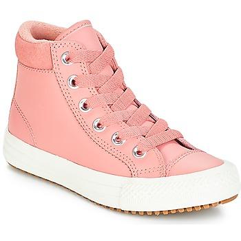 Încăltăminte Fete Pantofi sport stil gheata Converse CHUCK TAYLOR ALL STAR PC BOOT HI Rust / Pink / Burnt / Caramel / Rust / Pink