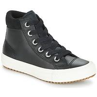 Încăltăminte Copii Pantofi sport stil gheata Converse CHUCK TAYLOR ALL STAR PC BOOT HI Negru / Alb