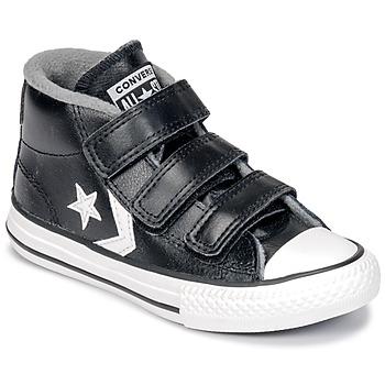 Încăltăminte Copii Pantofi sport stil gheata Converse STAR PLAYER 3V MID Black / Mason / Vintage / White