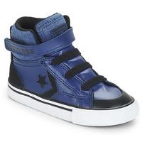 Încăltăminte Băieți Pantofi sport stil gheata Converse PRO BLAZE STRAP HI Albastru