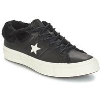 Încăltăminte Femei Pantofi sport Casual Converse ONE STAR LEATHER OX Negru