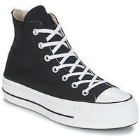 Pantofi Femei Pantofi sport stil gheata Converse CHUCK TAYLOR ALL STAR LIFT CANVAS HI Negru