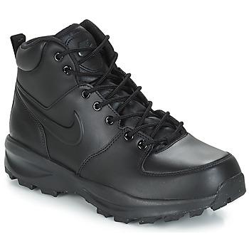 Încăltăminte Bărbați Ghete Nike MANOA LEATHER BOOT Negru