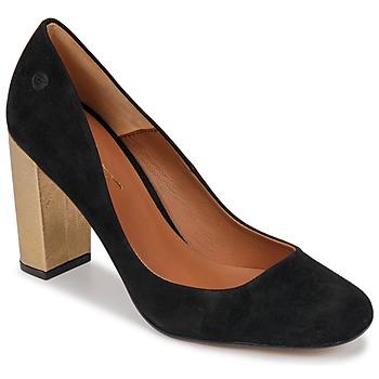 Încăltăminte Femei Pantofi cu toc Betty London JIFOLU Negru / Auriu