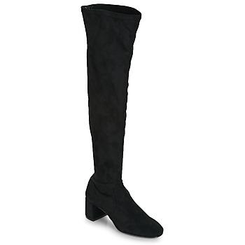 Încăltăminte Femei Cizme lungi peste genunchi Betty London JOUBITU Negru