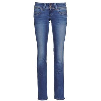 Îmbracaminte Femei Jeans drepti Pepe jeans VENUS Albastru / Medium