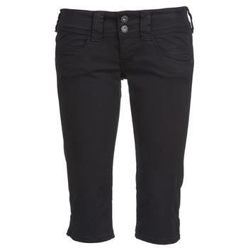 Îmbracaminte Femei Pantaloni trei sferturi Pepe jeans VENUS CROP Negru