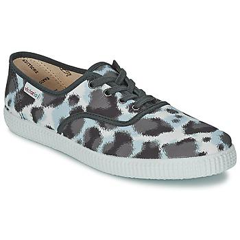 Încăltăminte Femei Pantofi sport Casual Victoria INGLESA ESTAMP HUELLA TIGRE Gri
