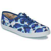 Încăltăminte Femei Pantofi sport Casual Victoria INGLESA ESTAMP HUELLA TIGRE Albastru