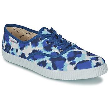 Pantofi Femei Pantofi sport Casual Victoria INGLESA ESTAMP HUELLA TIGRE Albastru