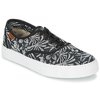 Pantofi Femei Pantofi sport Casual Victoria INGLES ESTAP HOJAS TROPICAL Negru