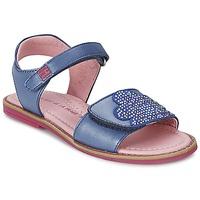 Pantofi Fete Sandale  Agatha Ruiz de la Prada MISS PONZA Albastru